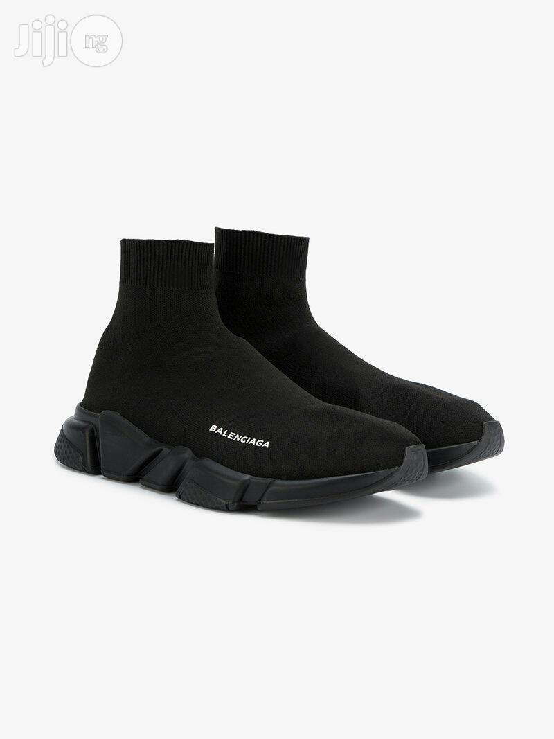 All Black Balenciaga Shoes in Lagos