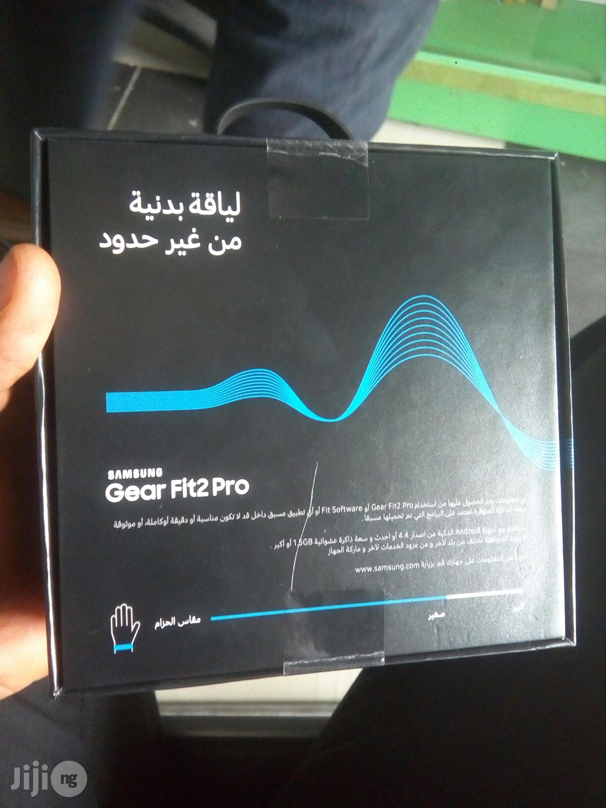 Samsung Gear Fit 2 Pro | Smart Watches & Trackers for sale in Ikeja, Lagos State, Nigeria