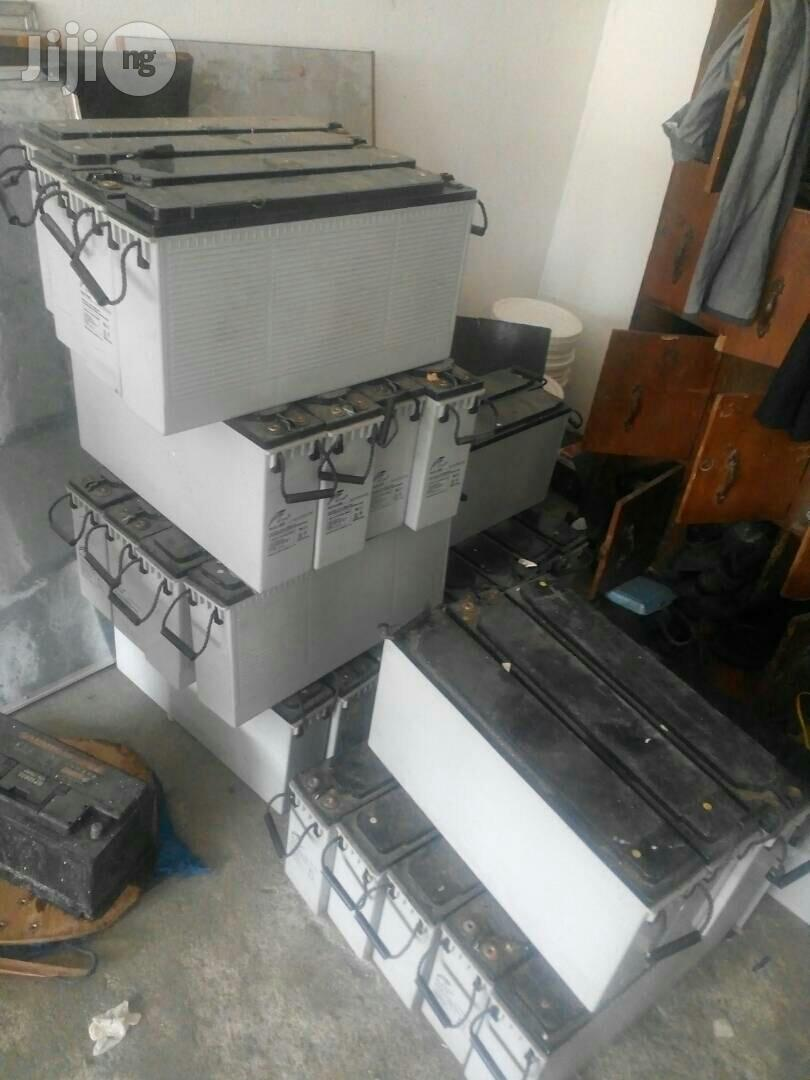 Used Solar Battery Or Batteries Lagos