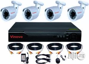 VINOVO 4ch AHD DVR Cctv Cameras Kit   Security & Surveillance for sale in Lagos State, Ikeja