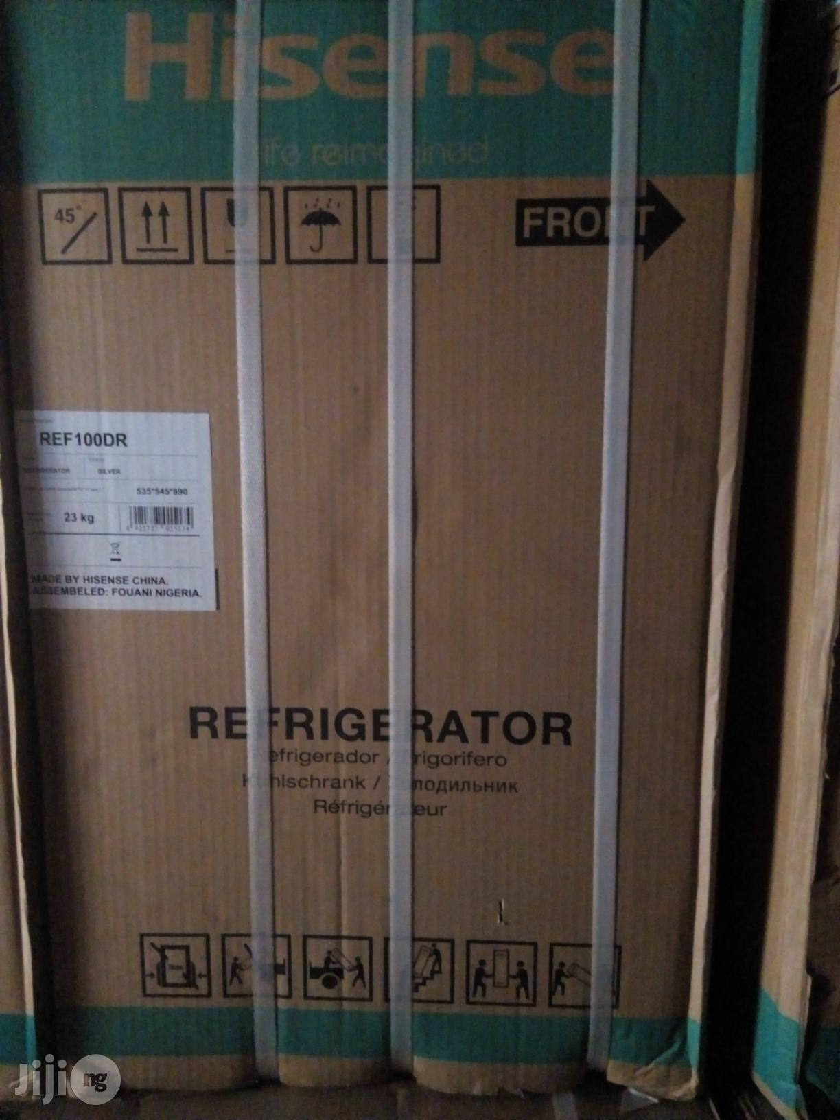 Hisense Ref100dr 2YEARS W | Kitchen Appliances for sale in Onitsha, Anambra State, Nigeria