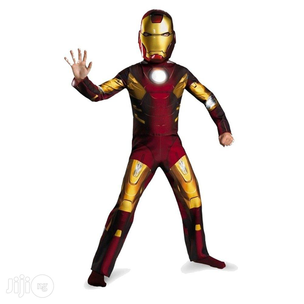 Children Avengers Iron Man Mark 7 Classic Costume, Red/Gold