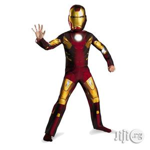 Children Avengers Iron Man Mark 7 Classic Costume, Red/Gold | Children's Clothing for sale in Lagos State, Apapa