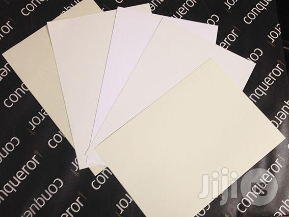 Conquror Laid Paper A4 (500 Sheets) | Stationery for sale in Ikeja, Lagos State, Nigeria
