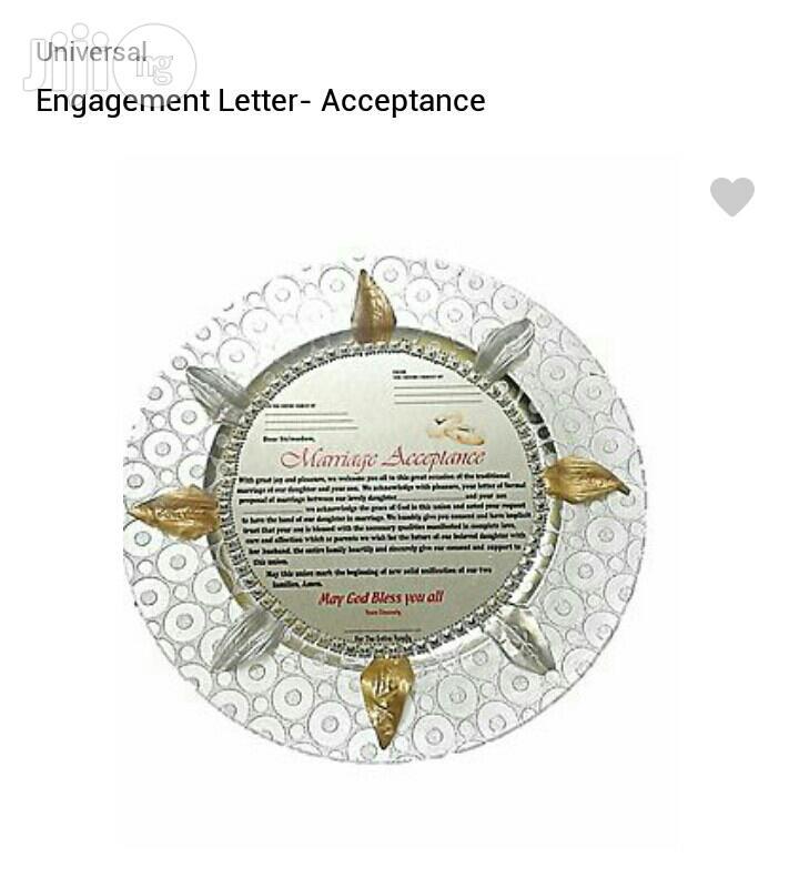 Archive: Engagement Letter- Acceptance
