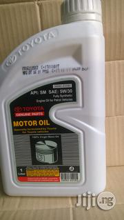 Toyota Genuine Motor Oil Fully Synthetic 5W30 | Vehicle Parts & Accessories for sale in Rivers State, Port-Harcourt