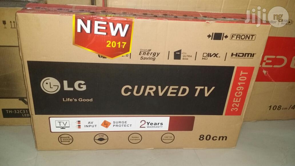 LG Tv 32 Inches Led Curved Full HDMI And USB Port