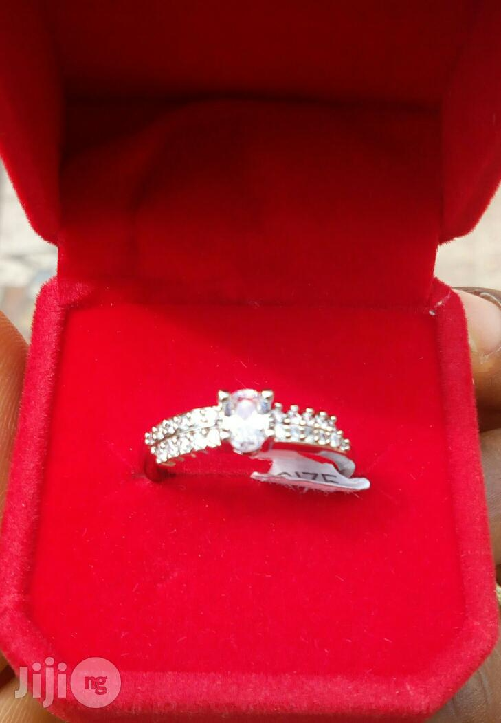 Stainless Still Engagment Ring