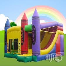 Crayon Bouncing Castle For Rent   Party, Catering & Event Services for sale in Lagos State, Ikeja