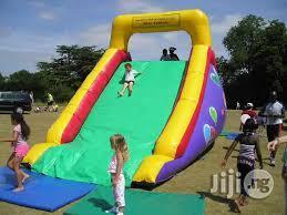 Bouncing Castle Slide For Rent
