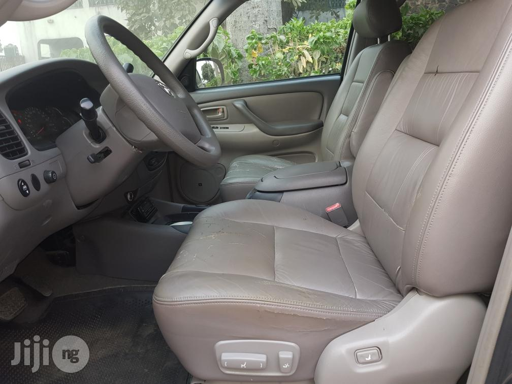 Fresh Toyota Sequoia 2004 Gray | Cars for sale in Surulere, Lagos State, Nigeria