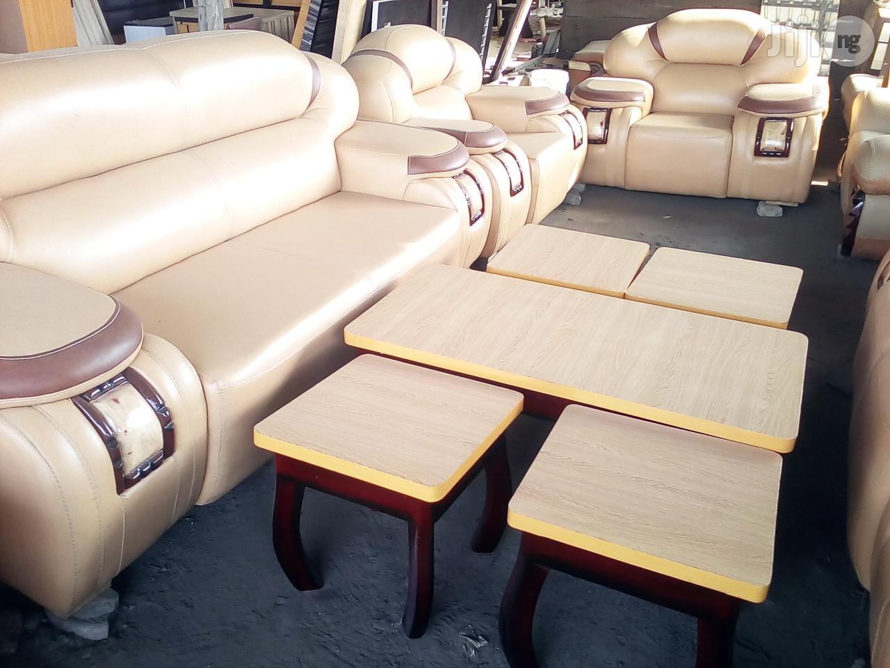 Original Italian Designed Cushion Chair | Furniture for sale in Ojo, Lagos State, Nigeria