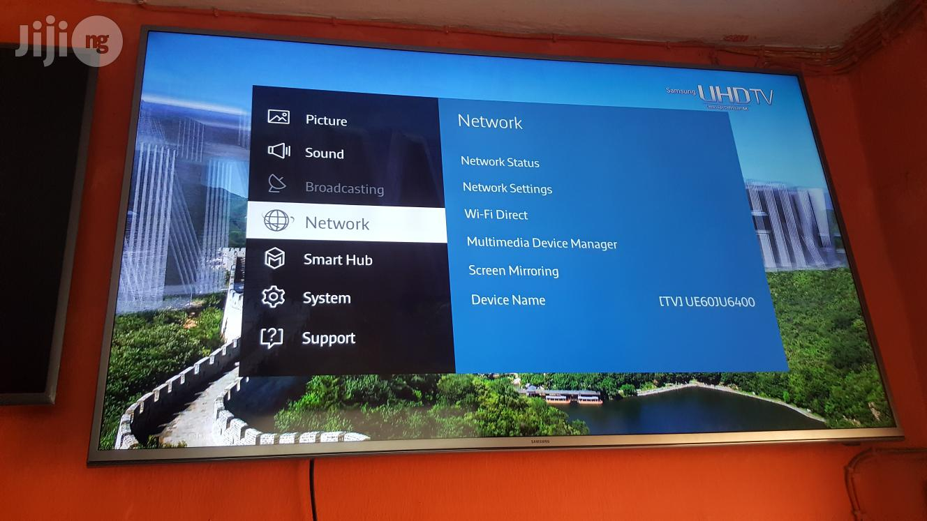 60 Inches Samsung Smart Ultra HD 4K LED Ue60ju6400