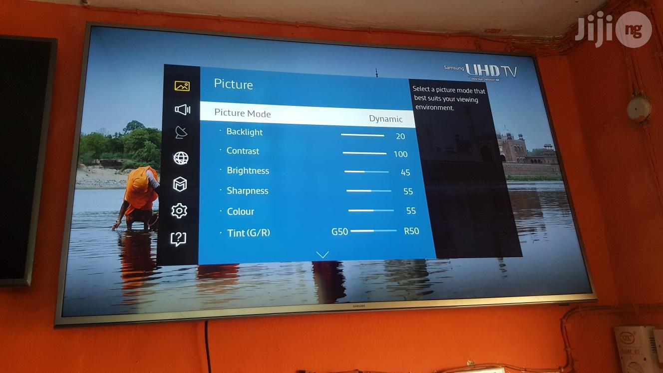 60 Inches Samsung Smart Ultra HD 4K LED Ue60ju6400   TV & DVD Equipment for sale in Ojo, Lagos State, Nigeria