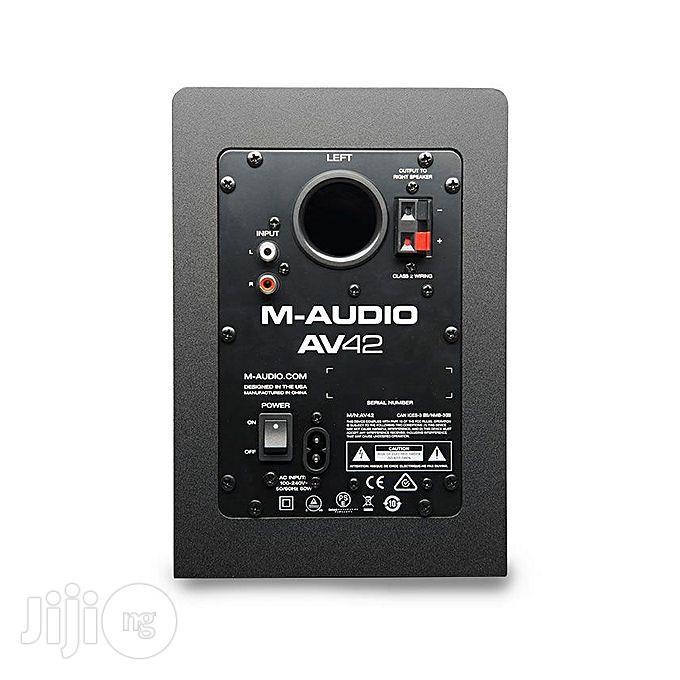 Behringer M-audio AV42 Desktop Speakers   Audio & Music Equipment for sale in Shomolu, Lagos State, Nigeria