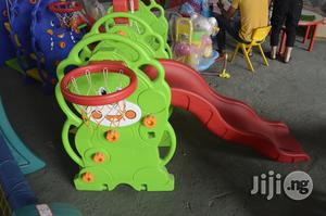 Playground Slide Equipment With Basketball Net   Toys for sale in Lagos State, Ikeja