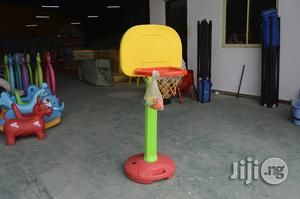 Kids Plastic Playground Basketball Net For Sale   Toys for sale in Lagos State, Ikeja