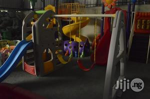 Outdoor Playground Equipment With Double Swing & Slide   Toys for sale in Lagos State, Ikeja