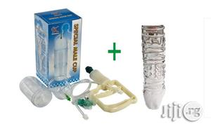 Penis Reusable Condom & Advance Penis Enlargement Pump   Sexual Wellness for sale in Lagos State