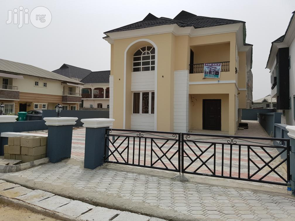 Newly Built 6 Bedroom Terrace Duplex At For Sale.