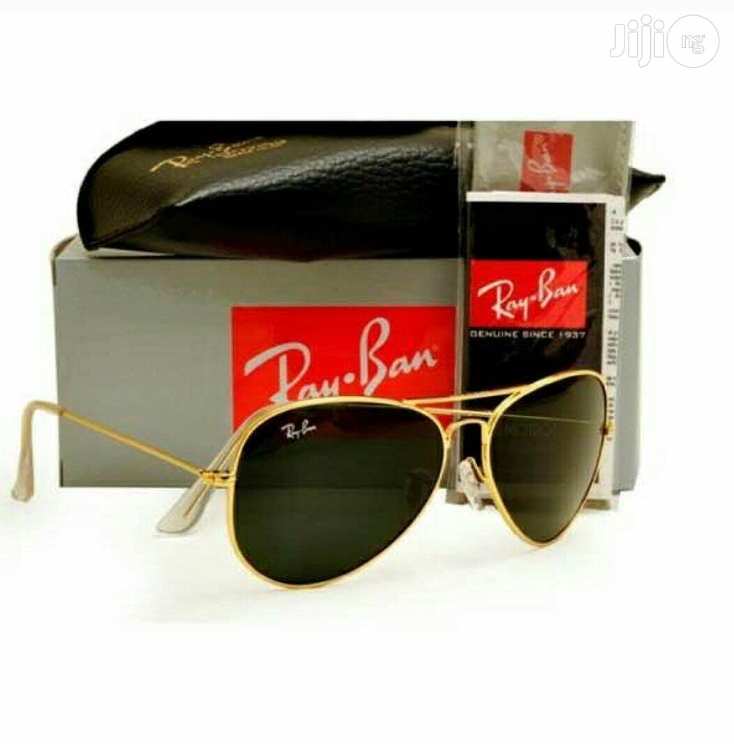 Ray Ban Gold Frame Aviators