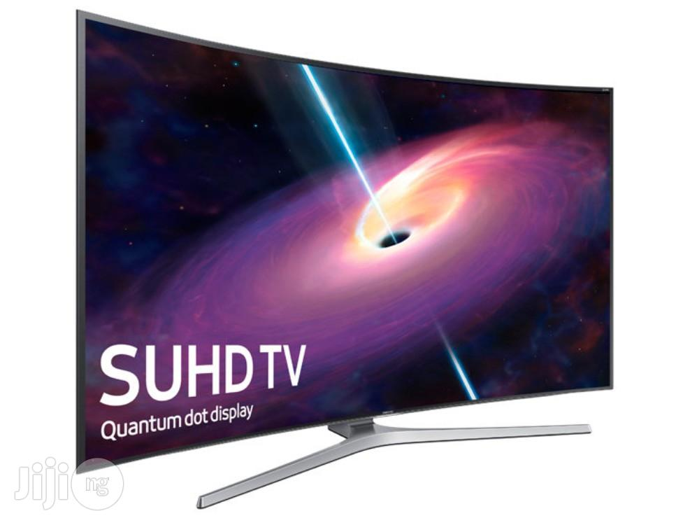 Pay On Delivery - Samsung 65inchs 4K Super UHD 3D Curved TV   TV & DVD Equipment for sale in Lagos State, Nigeria