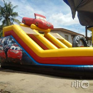 Very Big And Beautiful Bouncing Castle And Slide With Blowing Machine (Wholesale And Retail)   Toys for sale in Lagos State