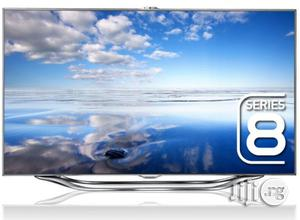 Samsung Camera 3D Smart Tv Silver 55inchs + Voice Control | TV & DVD Equipment for sale in Lagos State