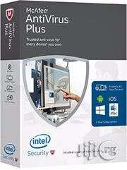 Mcafee Antivirus Plus 2020 10 PC 12 Months License Antivirus 10 Users | Software for sale in Lagos State, Ikeja
