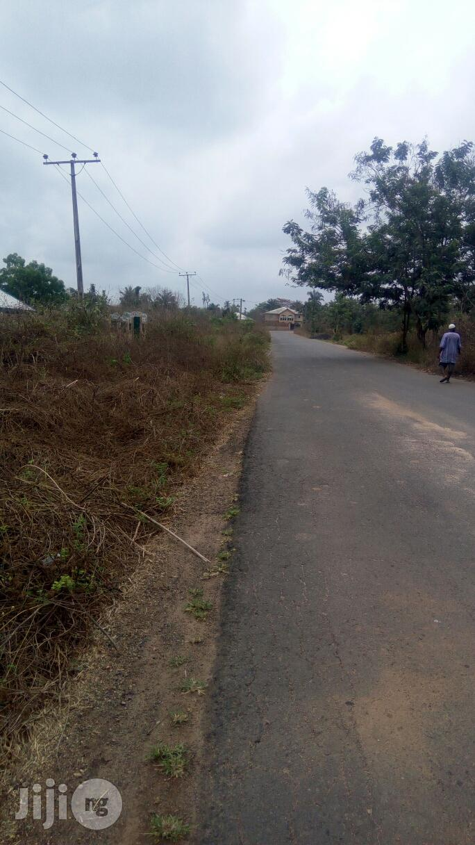 Plot Of Land At Alabata Junction, Moniya Ibadan | Land & Plots For Sale for sale in Akinyele, Oyo State, Nigeria