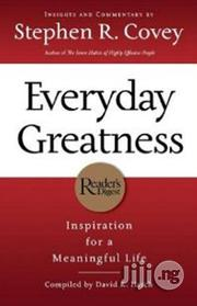 Everyday Greatness | Books & Games for sale in Lagos State, Surulere