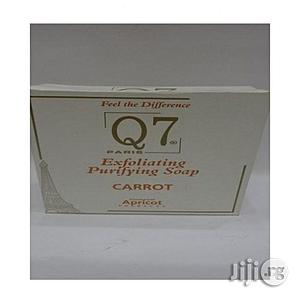 Q7 Exfoliating Purifying Soap(Carrot)   Bath & Body for sale in Lagos State, Ojo