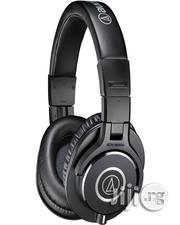 Audio-technica Ath-m40x Monitor Headphones - Black | Headphones for sale in Lagos State