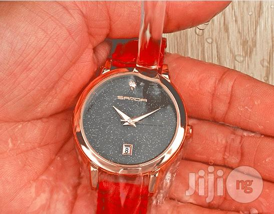 Sanda Pure Leather Quality Ladies Wrist Watch | Watches for sale in Lagos State, Nigeria
