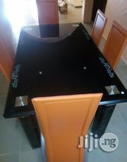 New Top Brand Glass Dining Table With Chairs | Furniture for sale in Abuja (FCT) State, Central Business Dis