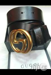 Gucci Leather Belt Original 79 | Clothing Accessories for sale in Lagos State, Surulere