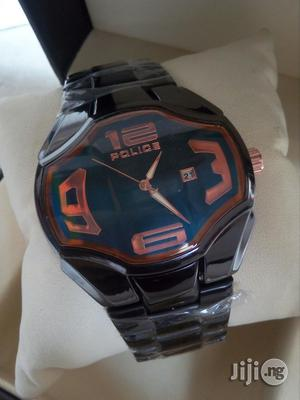 Police Black Chain Watch | Watches for sale in Lagos State, Surulere