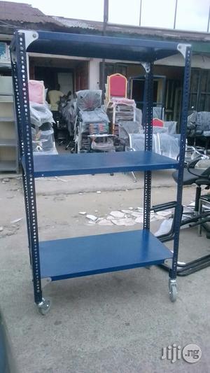 Multi-Purpose Roller Metal Shelf | Furniture for sale in Rivers State, Port-Harcourt