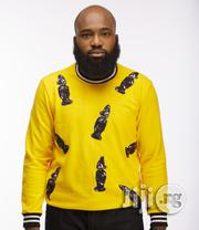 ADOT Long Sleeve Print T-Shirt - Yellow | Clothing for sale in Lagos State, Shomolu