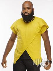 ADOT Short Sleeve T-Shirt - Yellow | Clothing for sale in Lagos State, Shomolu