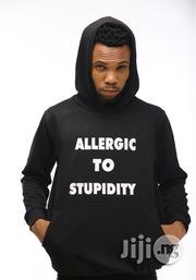 ADOT Hoodie Sweatshirt - Black | Clothing for sale in Lagos State, Shomolu