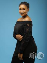 ADOT Ladies Off Shoulder Top - Black | Clothing for sale in Lagos State, Shomolu