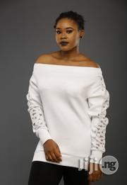 ADOT Ladies White Off Shoulder Top | Clothing for sale in Lagos State, Shomolu