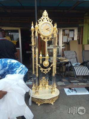 Golden Standing Clock   Home Accessories for sale in Lagos State, Ikeja