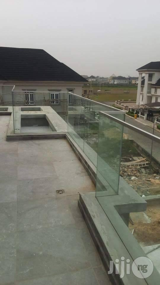 Frameless Glass Railings In Lagos | Building Materials for sale in Lagos State, Nigeria
