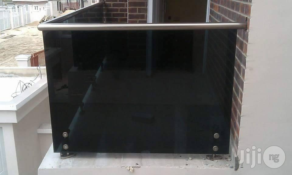 Frameless Glass Railings In Lagos