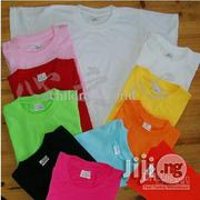 Children Colourful 100% Cotton Plain Tee Shirt (Wholesale Only) | Children's Clothing for sale in Lagos State