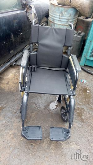 Strong And Sound Wheel Chair   Medical Supplies & Equipment for sale in Lagos State, Ikeja