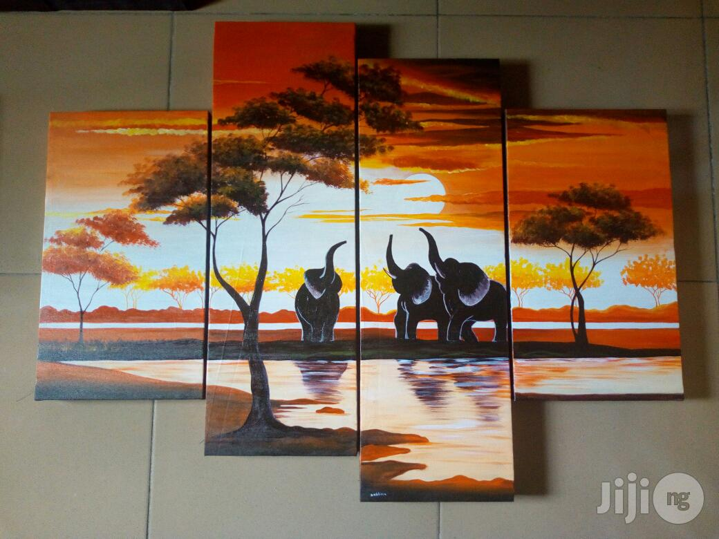 Hand Painted Artworks | Arts & Crafts for sale in Katampe, Abuja (FCT) State, Nigeria