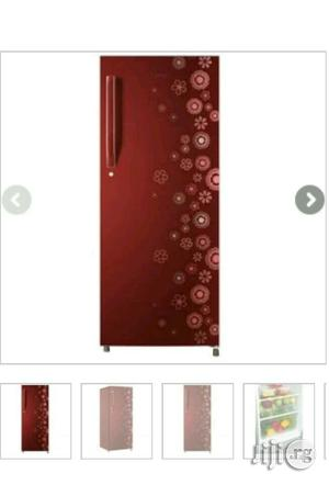 Haier Thermocool HR-195 IC MRN Refrigerator | Kitchen Appliances for sale in Lagos State, Ikeja